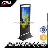 "65"" shop kiosk design floor stand display lcd touch screen all in one pc computer digital signage kiosk"