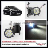 Low power consumption high brightness PEUGEOT 207 fog lamp