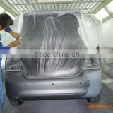 disposable plastic pe elastic car cover