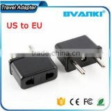 2016 Newest Universal USA US To EU Europe EURO Travel Charger Power Adapter Travel Adapter Worldwide Plug Power Adapter