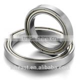 Open Z ZZ 2RZ 2RS type deep Groove Ball Bearing 6205 for Automobile
