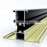 Promotional price 6063 T5 powder coating thermal break aluminium profile to make doors and windows