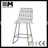 low price new design bar stool high harry bertoia wire bar chair
