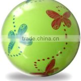 9 inch customer designed toy ball /High Quality PVC Cool Soft Fitness Ball/inflatable print ball