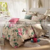 100% Cotton (Bed Sheets + Quilt Cover + 2 Pillowcase) 4pcs Bedding Set