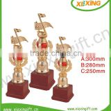 2014 shenzhen custom gold racing pigeon trophies