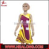 long sleeve lycra netball uniform, wholesale custom netball uniforms