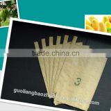 Waterproof Wax Coated Paper Fruit Growing Bags For Apple Loquat Banana
