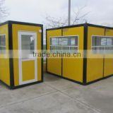 2015 newly designed security guard booth, guard room, guard shack in high quality