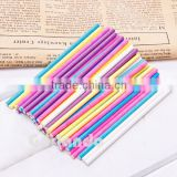 Colorful wholesale candy customized printed lollipop paper stick                                                                         Quality Choice