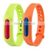The adjustable mosquito repellent bracelet, anti-mosquito insect-resistant TPR harmless plant capsules bracelet