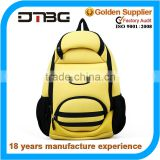 kids zoo animal backpack bag in yellow