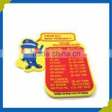 Colorful customized 3d pvc patch 3d rubber patch for garment rubber logo accessories
