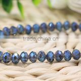 wholesale mixed color crystal glass rondelle beads for jewelry making glass beads manufacturers