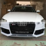2016 New for audi A6 C7 change RS6 front bumper