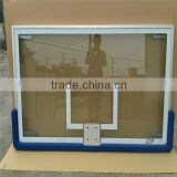 The Sport equipment Basketball backboard with tempered glass and aluminum
