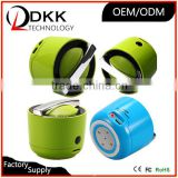 Fashion Design Cooker Style small size portable stereo digital speaker support TF card AUX calling best bluetooth speaker