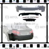 Body Kits for BMW F10 10-on Rear Bumper (M-TECH Look)