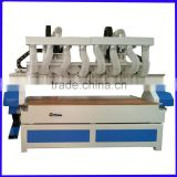 high configuration multi-head cnc router for PMMA plate cutting