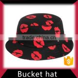 Mesh vented custom bucket hat