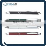 ballpoint aluminum pen metal pen pocket clips metal pen twist