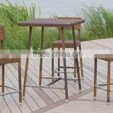 PE rattan outdoor furniture set