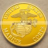 Factory Custom Proof craft imitation gold metal coin Cheap price high quality custom metal own souvenir coin