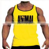 gym singlet Y-back - Custom Stringer Vests/ Gold gym singlet -Custom Printed Gym Singlets, Cotton gym singlet, T Back singlet