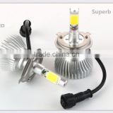 High Power Auto Care H4 Car Led Headlight High Low 12-24V 3000K/4300K/5500K/ 6000K/8000K