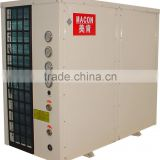 30Kw scroll compressor plate heat exchanger expansion valve air source heat pump water chiller aquarium
