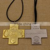 Promotion custom souvenir cross catholic religious medals                                                                         Quality Choice
