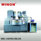 WN-140TEC/R6/3S WINON Fully Automatic High Speed Servo Pad Printing Machine with Laser for Faucet