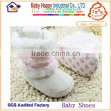 Shenzhen Factory baby winter booties baby christmas shoes