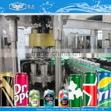 CE certified bubble drink canning plant