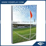 Aluminum indoo LED optical lens fabric light box for tradeshow