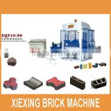XIEXING Newest Full Automatic Concrete Block Making Machine Interlocking brick machine XQY10-50 (QT10-15) with CE&ISO9001