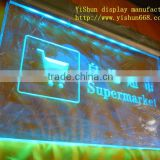 LED acrylic electronic promotion board