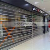 Shop front bullet proof window display commercial roller shutters