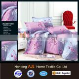 100% polyester printed stock lot bed sheet