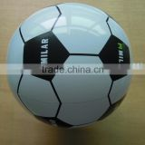 custom logo inflatable football beach ball, soccer ball for promotion