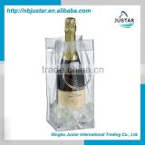 Wholesale NonToxic Customized Portable Bottle Ice Bag Wine Cooler                                                                         Quality Choice