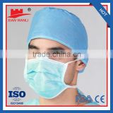 2015 Disposable Face Mask 2Ply/3ply/4ply Ear loop & Tie On ,Auto Machine Individual Packing
