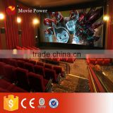 3dof Electric Motion Platform Cinema 5d cinema simulator cabin with 4d motion cinema Seats