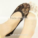 Women Girls Lace Short Ankle Boat Low Cut Invisible No Show Liner Socks