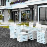 Pest and Fungus-free Great Waterproof Skid Resistant White Painted Garden Furniture