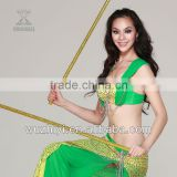 New Belly Dance Wear Accessories, Performance Stage Golden Cheap Cane for Dancer (D20)