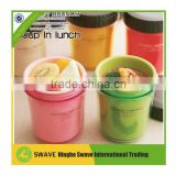 Hot new products for 2015 food box soup,pp lunch box kit,milk plastic box ,container for soup