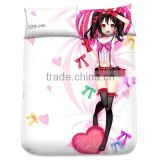 New Yazawa Nico - Love Live Japanese Anime Bed Sheet with Pillow Covers Blanket 1
