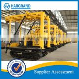 XYD-130 hydraulic crawler drill rig, track mounted drilling rig,geotechnical investigation drill rig for 100m