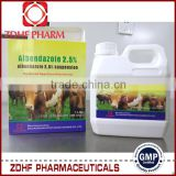 Bulk quantity cattle sheep wormer 2.5% 5% Albendazole Suspension with good price
